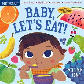 _'BABY LET'S EAT' INDESTRUCTIBLES BOOK