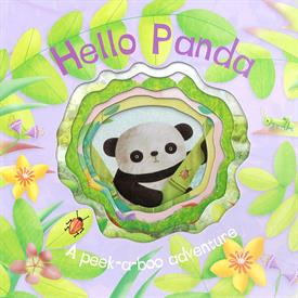 _HELLO PANDA BOARD BOOK. CUT OUT DESIGN