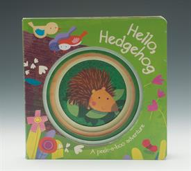 _HELLO HEDGEHOD CUTOUT BOARD BOOK
