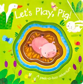 _LETS PLAY PIG CUTOUT BOARD BOOK