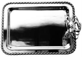 ",_Masthead tray with crab medium 15""x10aluminum not dishwasher approved"
