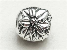 -,DECEMBER POINSETTIA BEAD
