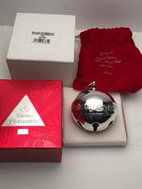 ,1997 SLEIGH BELL W BOX SILVER PLATED