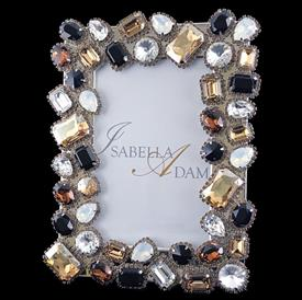 """-,4x6"""" TOPAZ CRYSTAL CLUSTER FRAME. 8"""" TALL, 6"""" WIDE"""