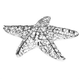 ",-FRANKLIN THE STARFISH COLLECTIBLE. 4"" X 4"" WIDE, 1"" HIGH"