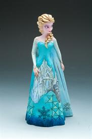 ,_FROZEN. ELSA WITH ICE CASTLE DRESS.
