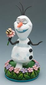 ,_FROZEN. OLAF WITH FLOWER.