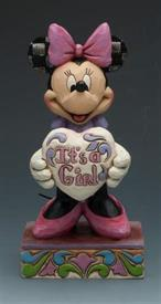 ",_IT'S A GIRL MINNIE MOUSE. 5.5""H"