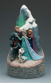 ",_WORTH MELTING FOR. FROZEN BIRCH CARVED BY HEART 9.25""TALL X 5""WIDE."