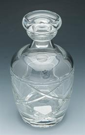 ,_DECANTER  24% LEAD CRYSTAL GERMAN MADE  4.5X9.25X11.25.HANDWASH GIFT BOXED