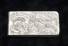 "CARD HOLDER OF SOME SORT MADE BY SCHIEBLER OF NEW YORK 4.50 TROY OUNCES 4.75"" X 2.5"""