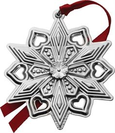 ,_46TH EDITION SNOWFLAKE STERLING SILVER.  MARKED DOWN SLIGHTLY ON 12-14-15