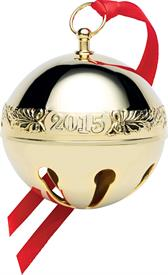 _26TH EDITION GOLD PLATED SLEIGH BELL  MADE BY WALLACE
