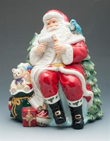 _COOKIE JAR SANTA WITH A LIST