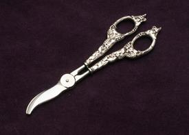 "GRAPE SHEARS 7.75"" LONG VERY MASSIVE HANDLES STERLING SILVER"