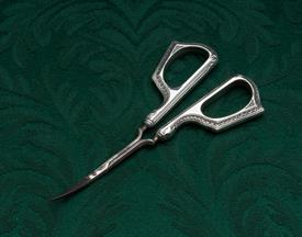 """WEBSTER STERLING HANDLED GRAPE SHEARS 4.75"""" LONG CONDITION A 7 OF 10"""
