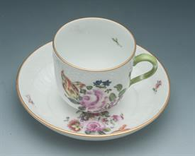 ,BOUQUET OF FLOWERS CHOCOLATE CUP & SAUCER