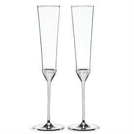 -METAL TOASTING FLUTES 6OZ