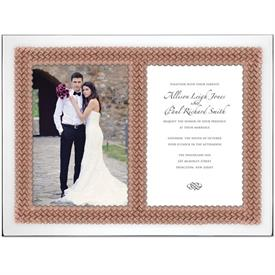 "-DOUBLE 5X7"" INVITATION FRAME"