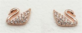 -5144289 EARRINGS SWAN MINI CRYSTAL