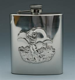 ,_GOLFERS  FLASK STAINLESS STEEL 8OZ.