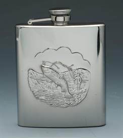 ,_FISHERMANS FLASK STAINLESS STEEL 8OZ.