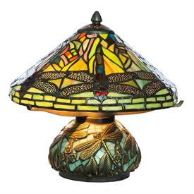 """-,HANGING DRAGONFLY LAMP. 10"""" WIDE, 10.5"""" TALL"""
