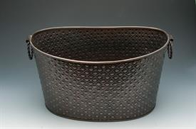 "_OVAL COPPER TUB 16""X12""X10"""