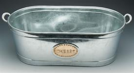 "_GALVANIZED CHEERS TUB 21""X11""X7.5"""