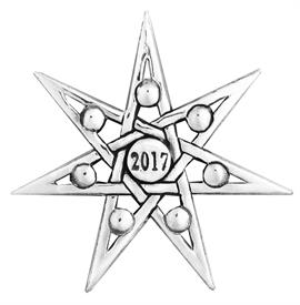 _,2017 ANNUAL STAR ORNAMENT