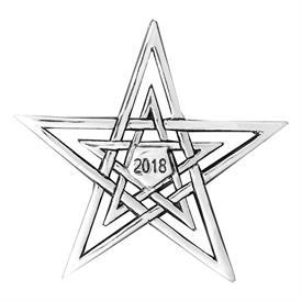 _,2018 STAR ORNAMENT