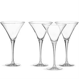 -SET OF 4 MARTINI GLASSES. MSRP $54.00