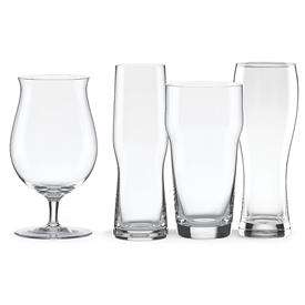 -SET OF 4 ASSORTED CRAFT BEER GLASSES. INCLUDES 1 EACH PINT GLASS, PILSNER GLASS, IPA GLASS, & WHEAT BEER GLASS. MSRP $54.00