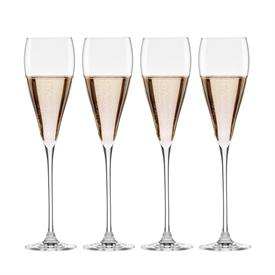 -SET OF 6 CHAMPAGNE TOASTING FLUTES. MSRP $54.00