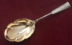 ",JE CALDWELL BERRY SERVER 10.5"" LONG STERLING SILVER 3.30 TROY OUNCES"