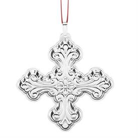 ",_46th Christmas Cross Annual Sterling Silver Ornament made by Reed & Barton 3"" height - MSRP $125 - Most Popular Item"