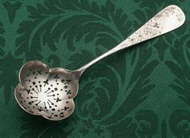 ",STERLING SILVER SUGAR SIFTING LADLE 1.25 TROY OUNCES 6.5"" LONG"
