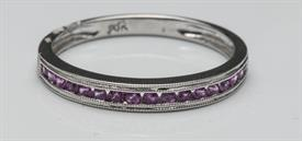 _10K WHITE GOLD PINK SAPPHIRE BAND