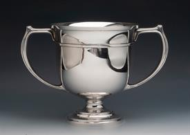 ",LA BORNE DE CORNOUILLER 1918 STERLING SILVER TROPHY CUP 27.80 TROY OUNCES 9"" TALL CONDITION 6 OF 10 - PRESENTS WELL"