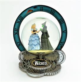 ",RARE 2003 WICKED BROADWAY MUSICAL 'FOR GOOD' MUSICAL SNOW GLOBE. 7.6"" TALL"
