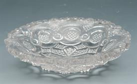 :SANDWICH GLASS LACY ROMAN ROSETTE FLINT GLASS CUP PLATE B