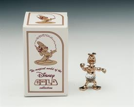 ", DONALD DUCK - DISNEY GOLD COLLECTION WITH BOX & COA. 1.5"". #67008. 24K GOLD PLATING, 32% AUSTRIAN LEAD CRYSTAL."