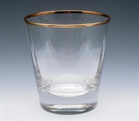 "-,FOUR 17 OUNCE DOUBLE OLD FASHIONED 4"" TALL RETAIL VALUE $60"