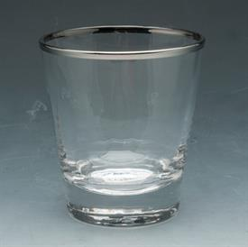 "-,FOUR DOUBLE OLD FASHIONED 17 OUNCE 4""TALL RETAIL VALUE $60"