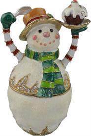 _,TT2226 SNOWMAN WITH CUPCAKE