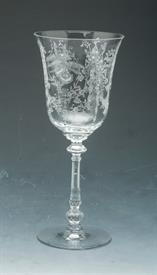 """HEISEY ORCHID 8.25"""" WATER GOBLET"""