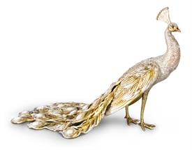 "-""THESEUS"" GRAND PEACOCK FIGURINE. LIMITED EDITION, ONLY 300 WORLDWIDE. 23""Wx15""Hx13""D"