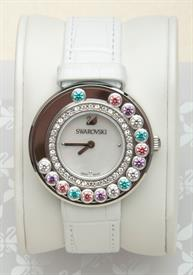 -LOVELY CRYSTAL MULTI-COLORED WATCH