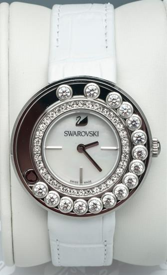 BELLEAIR COINS LOVELY CRYSTAL WHITE WATCH