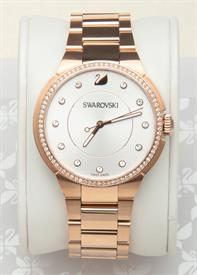 -CITY ROSE GOLD TONE BRACELET WATCH